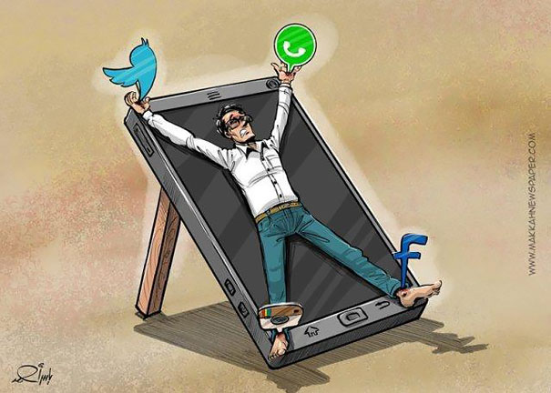 satirical-illustrations-technology-social-media-addiction-13