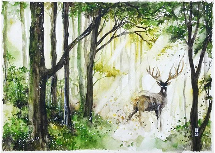 watercolor-animal-paintings-luqman-reza-mulyono-11
