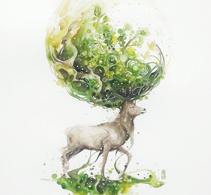 watercolor-animal-paintings-luqman-reza-mulyono-14
