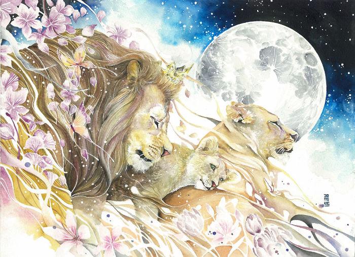 watercolor-animal-paintings-luqman-reza-mulyono-2