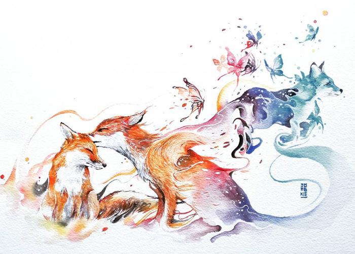 watercolor-animal-paintings-luqman-reza-mulyono-5