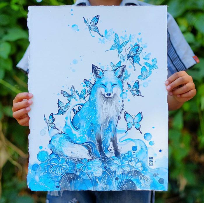 watercolor-animal-paintings-luqman-reza-mulyono-8