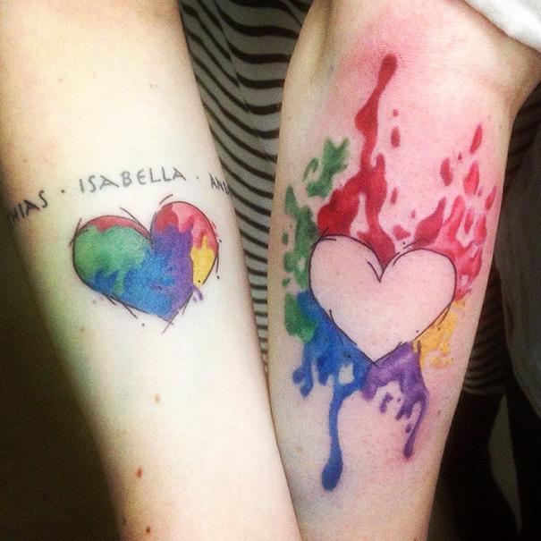 25 Sister Tattoos That Show Your Unique Bond