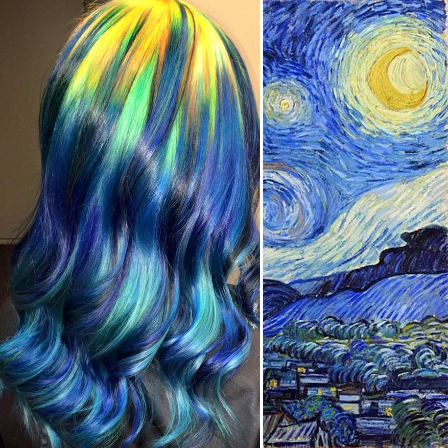 Art color hair - Classical Art Inspired Hair Dye Color Fashions Ursula