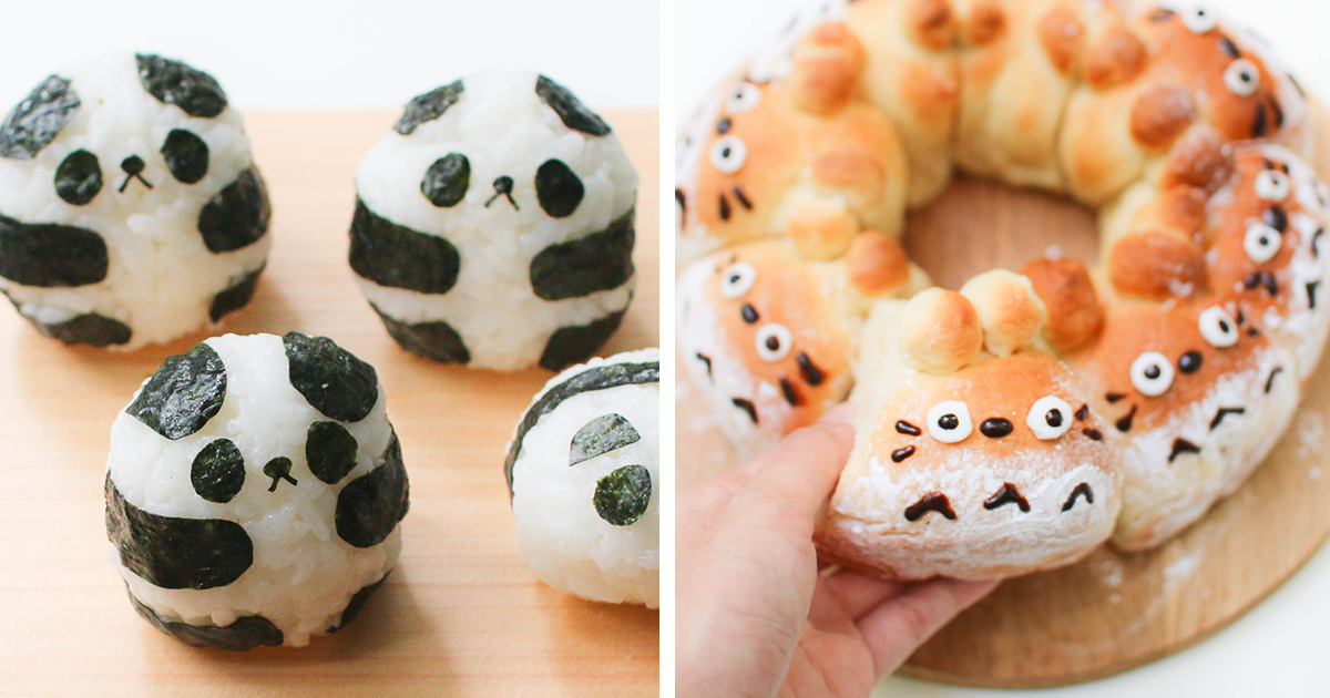 Food that looks like cute animals - photo#15
