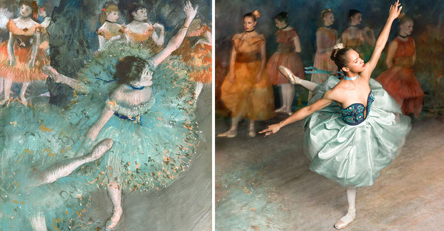 edgar-degas-ballet-dancer-painting-photoshoot-misty-copeland-harpers-bazaar-2