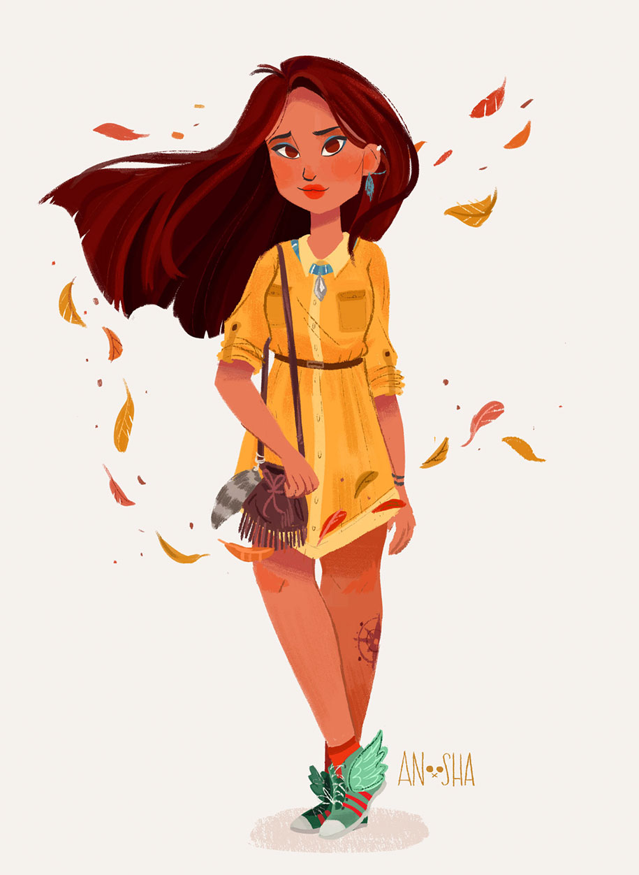 illustrator-creates-images-of-disney-princesses-as-modern-day-young-adults-4