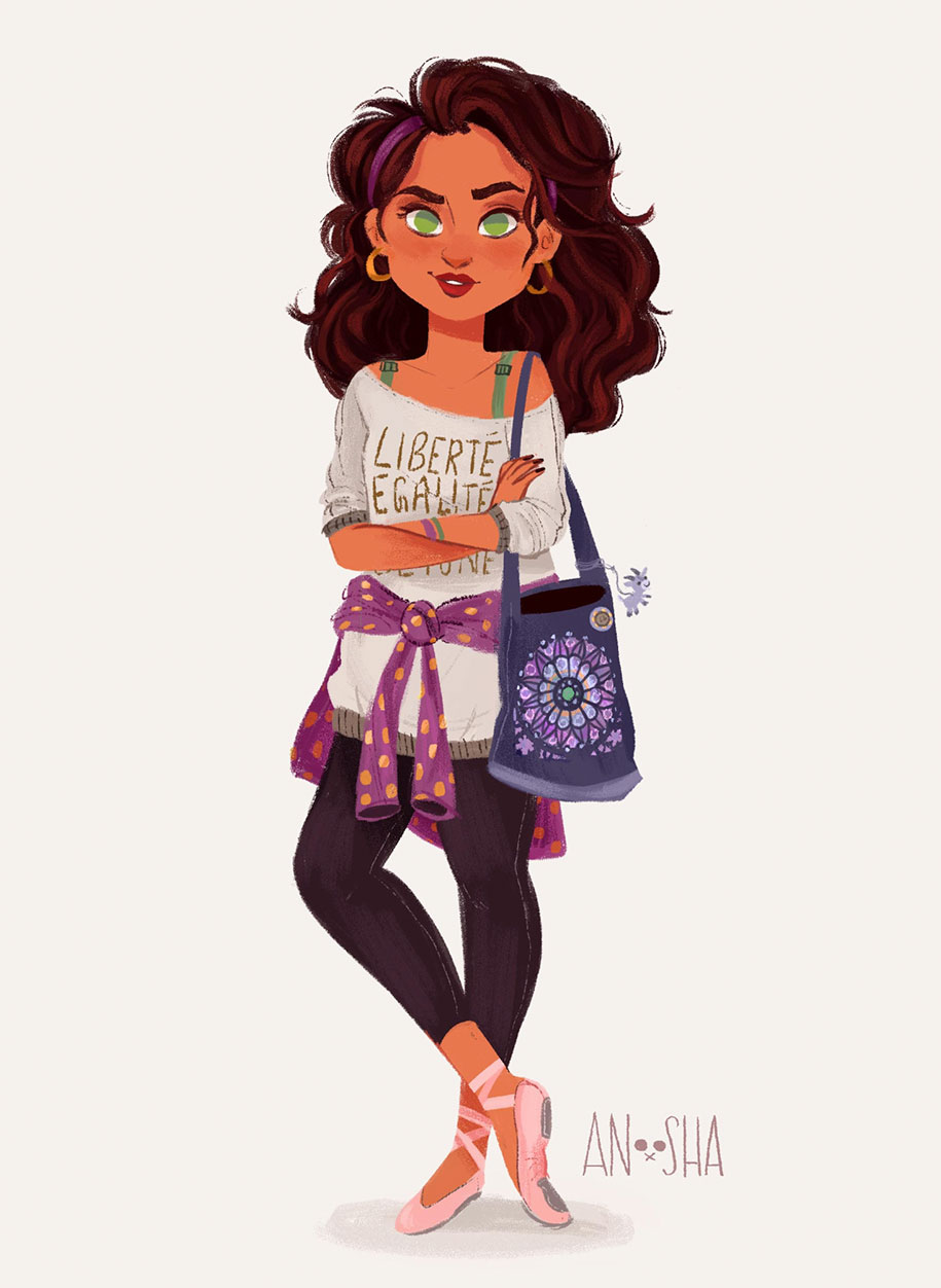 illustrator-creates-images-of-disney-princesses-as-modern-day-young-adults-5