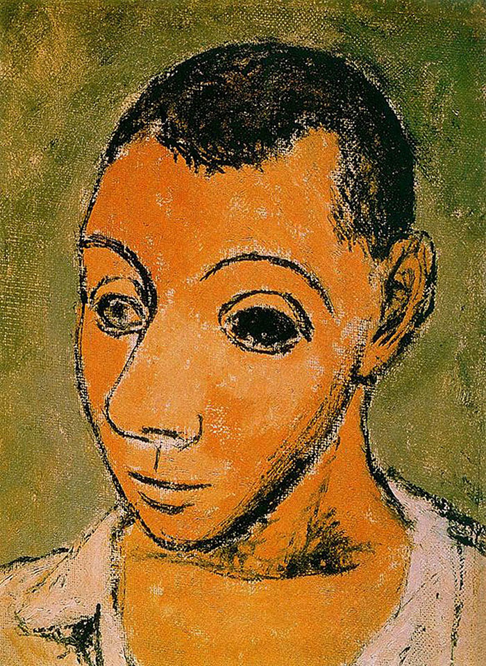 painting-self-portrait-style-evolution-pablo-picasso-14