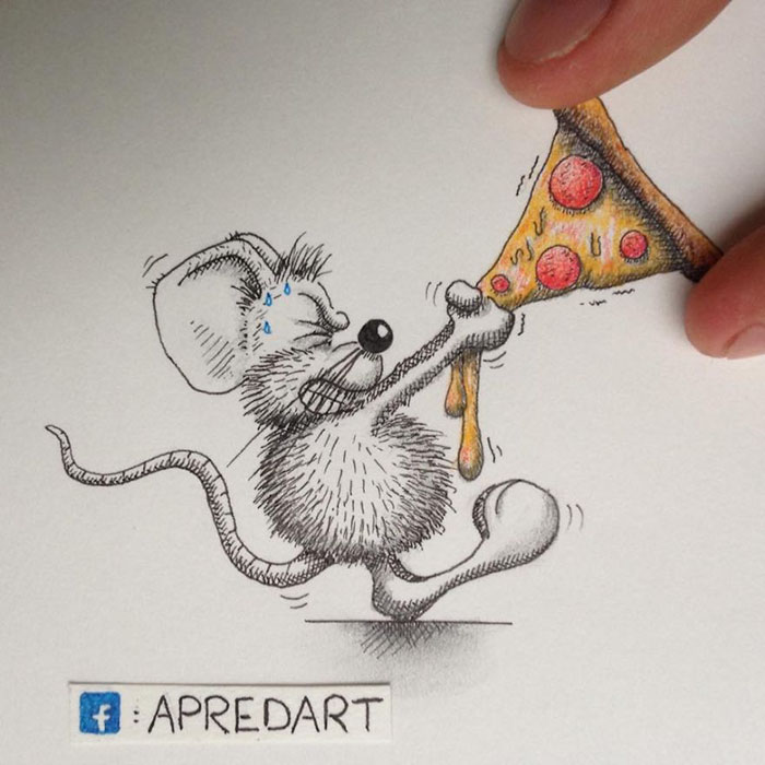 pencil-drawings-mouse-adventures-rikiki-loic-apredart-1