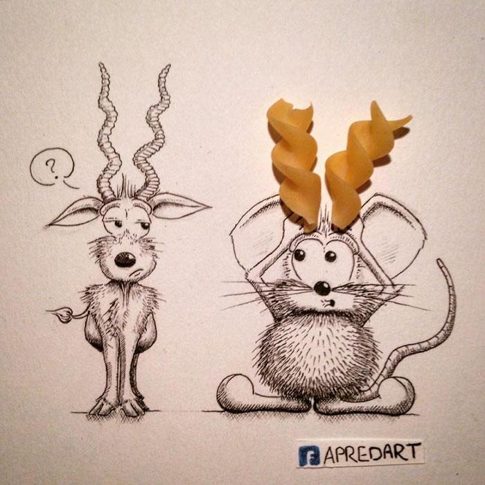 pencil-drawings-mouse-adventures-rikiki-loic-apredart-13