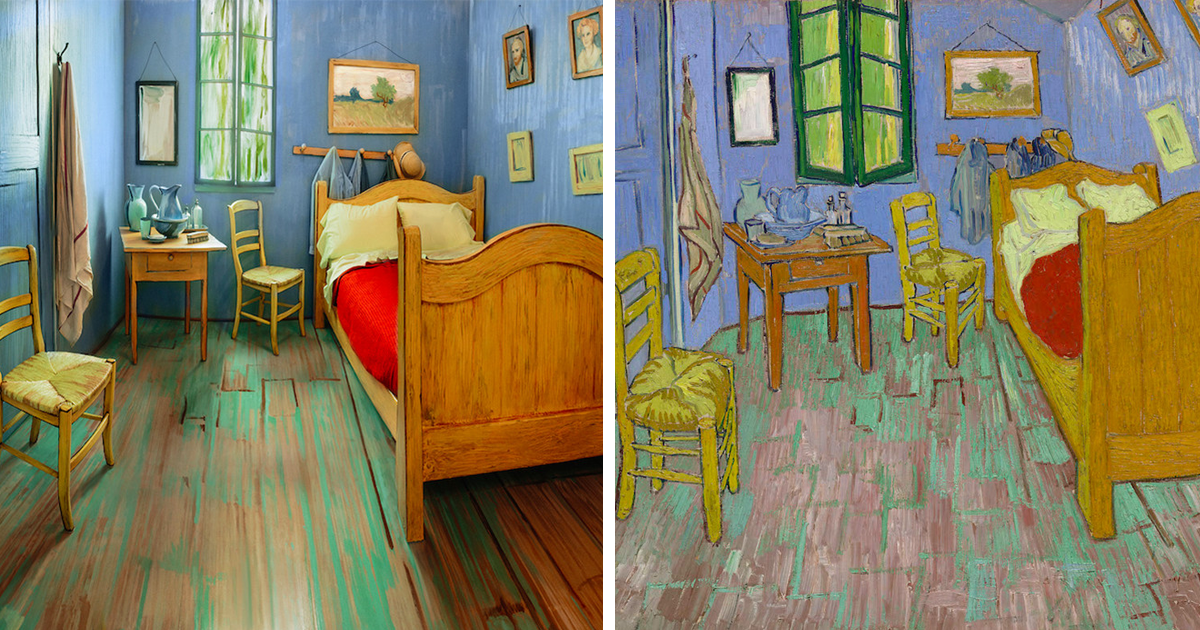 Artists Recreated Van Gogh S Famous Bedroom And Rented It