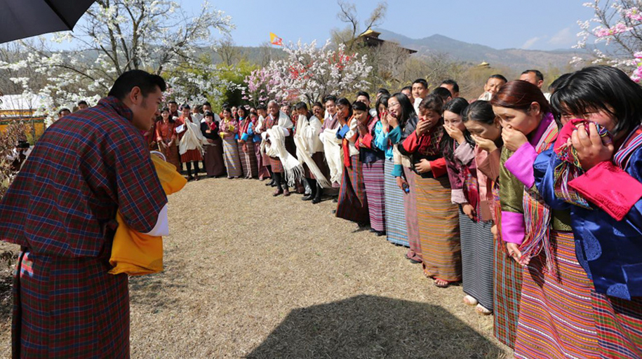 birth-new-prince-celebrated-planting-thousands-trees-bhutan-2