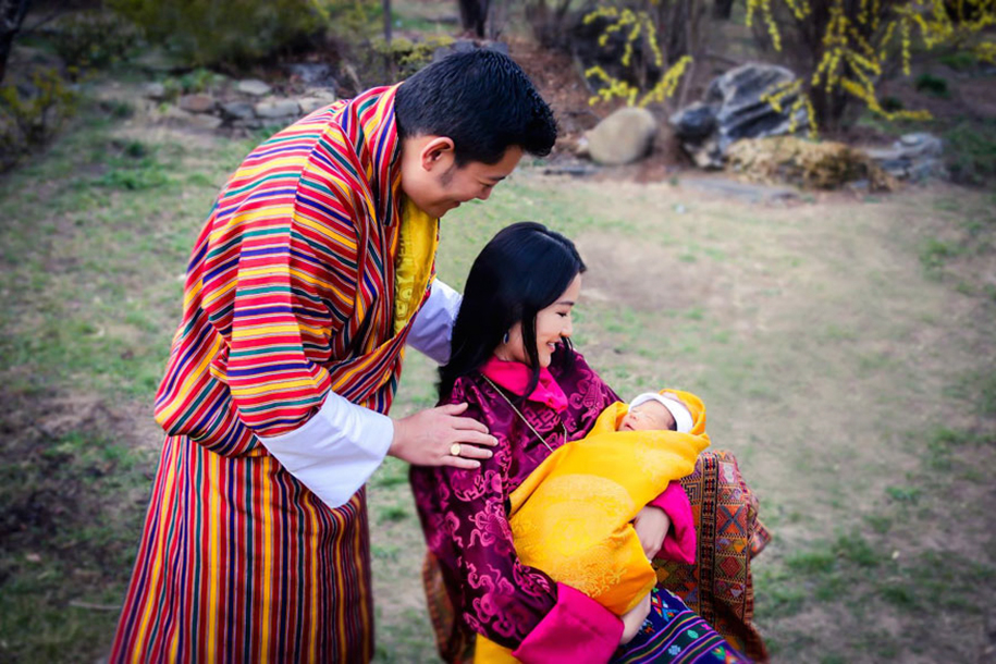 birth-new-prince-celebrated-planting-thousands-trees-bhutan-5