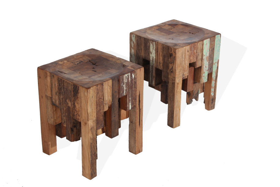 furniture made of wood. Stools Made Out Of \u0027Traviesa\u0027 Wood Furniture A