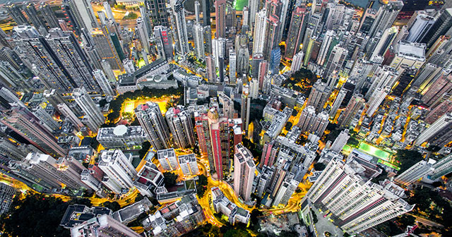 Hong Kong Drone Photography: Urban Density By Andy Yeung