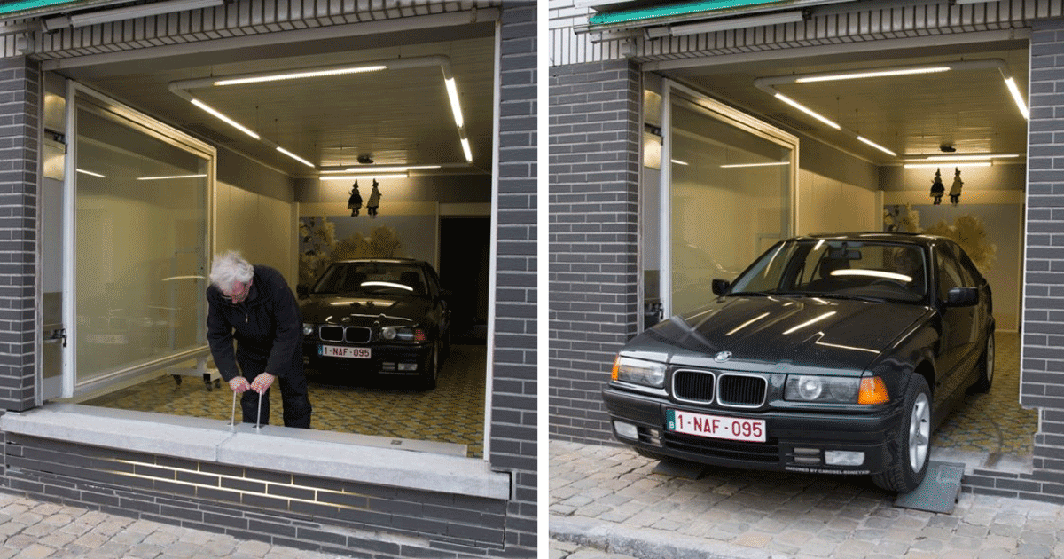 City Council Refused This Man A Garage Permit So He Found