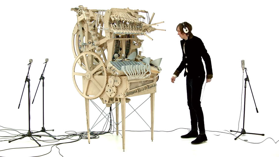 wintergarten marble machine