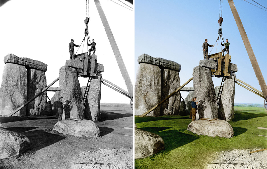 colorized-historic-photos-landmarks-under-construction-jordan-lloyd-dynamichrome-19