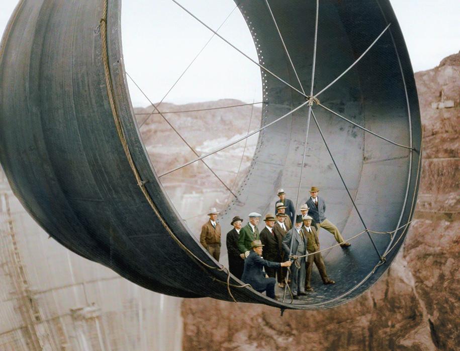 colorized-historic-photos-landmarks-under-construction-jordan-lloyd-dynamichrome-3