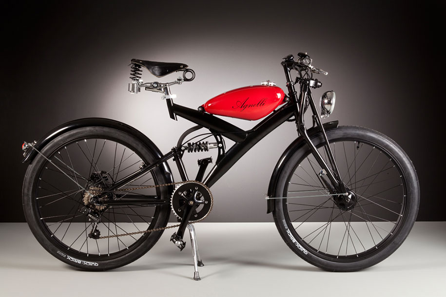Electric Bikes Made Out Of Vintage 1950s Bike Parts | DeMilked