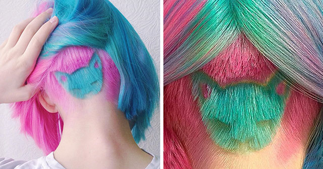 Rainbow Cat Haircut Is The Hot New Trend On Instagram