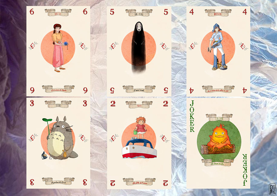 Miyazaki Cards: Cute Deck Filled With Characters From ...