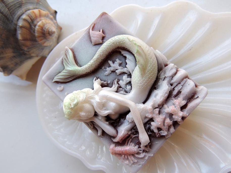 Handmade Soap Art Charming Frog 15 Truth Orde