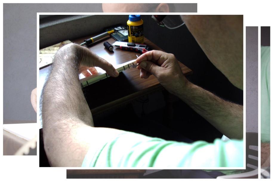 matchbox making process 1