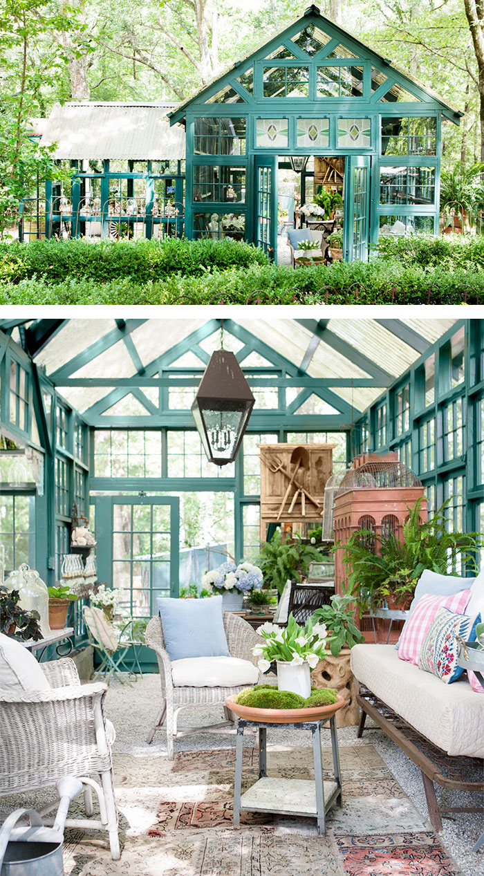 Man Cave Woman Shed : She shed a woman version of man cave