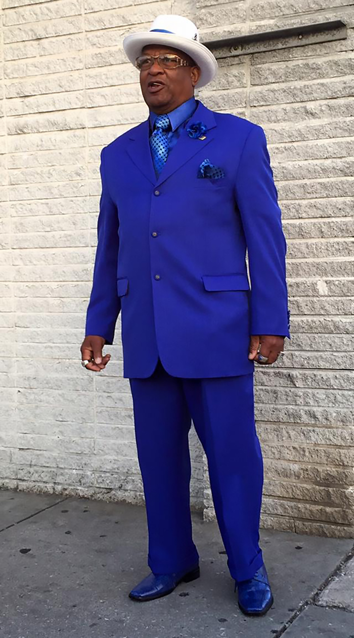 Man Dresses Up Every Sunday To Take His Grandmother To Church