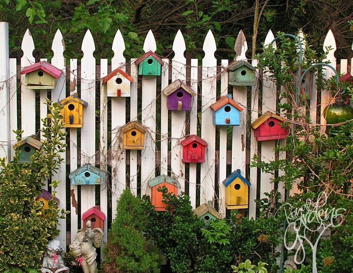 Wonderful Creative Diy Garden Fence Ideas 5