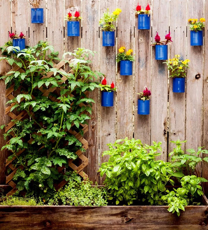 creative diy garden fence ideas 7