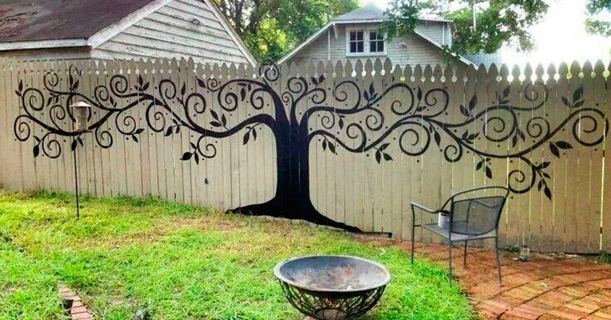 15 garden fences that are also works of art for Garden fence designs ideas