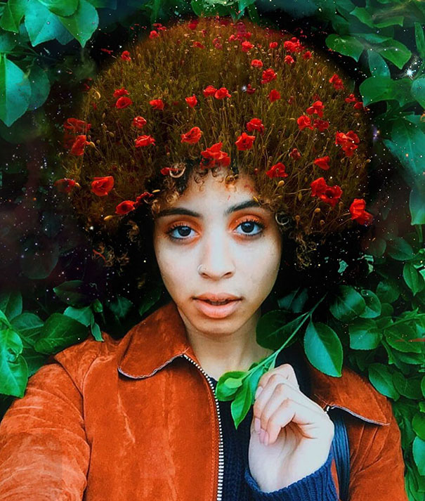 flower-galaxy-stars-afro-hairstyle-black-girl-magic-pierre-jean-louis-11