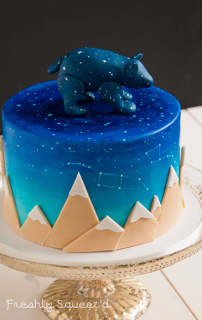 10 Space Cakes Galaxy Sweets And Other Otherworldly Treats