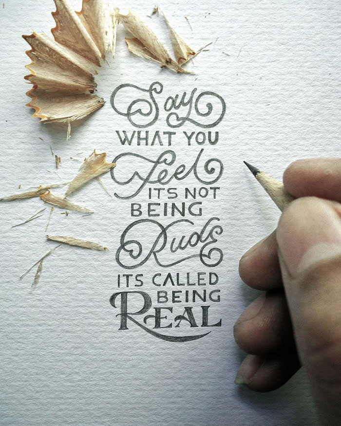 Powerful Phrases In Beautiful Calligraphy By Indonesian Artist