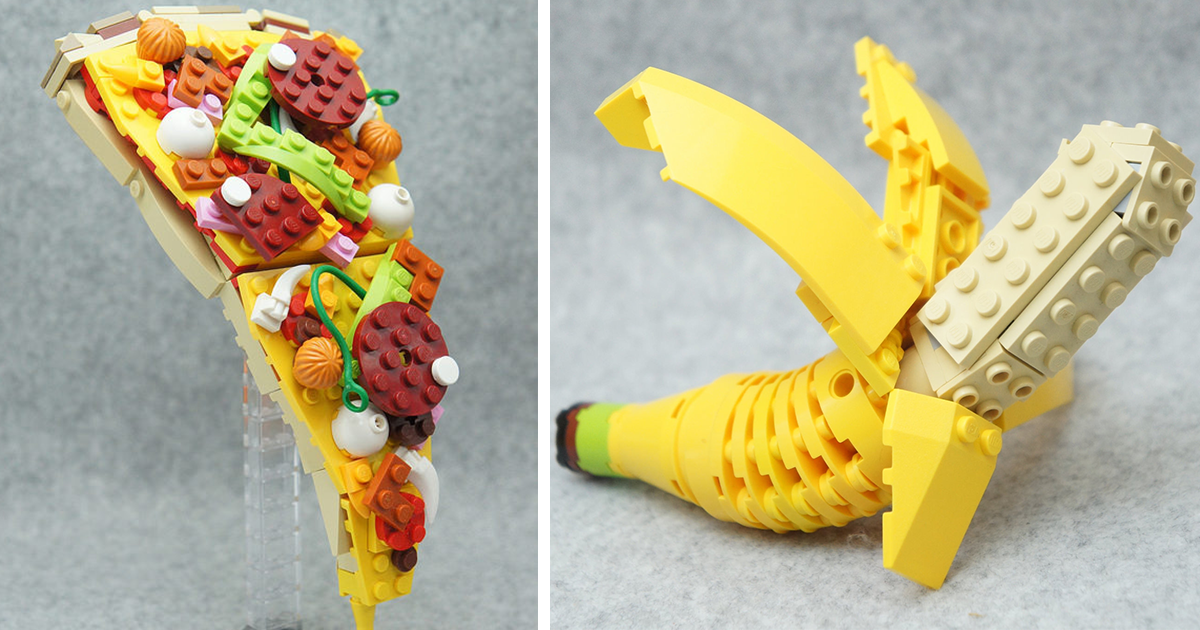 Delicious Lego Sculptures By Japanese Artist