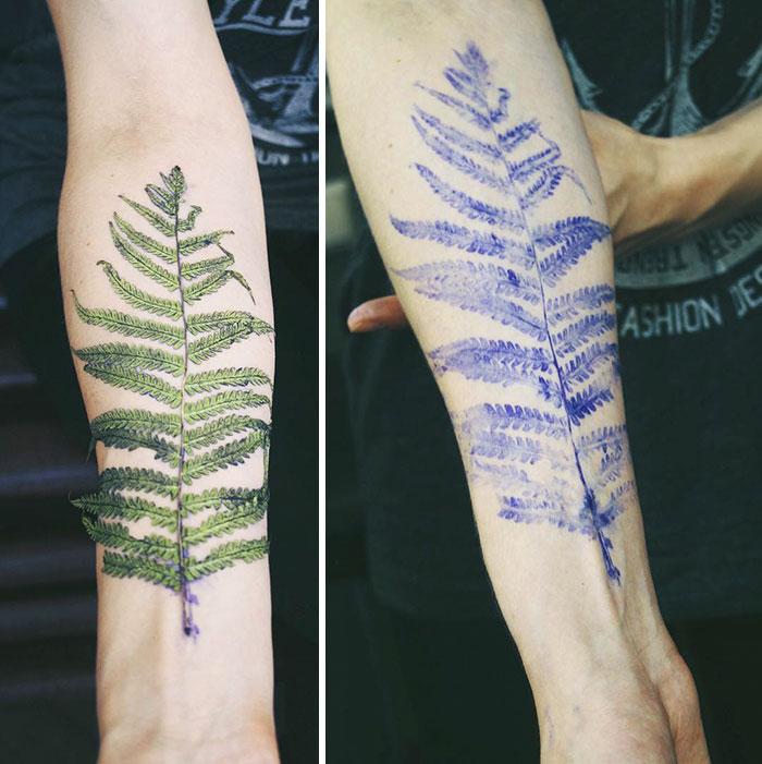 natural-tattoos-leaves-inprints-rit-kit-rita-zolotukhina-ukraine-8