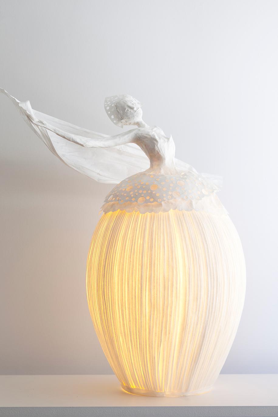 Paper Lamps Sculpture Papier A Etres 9