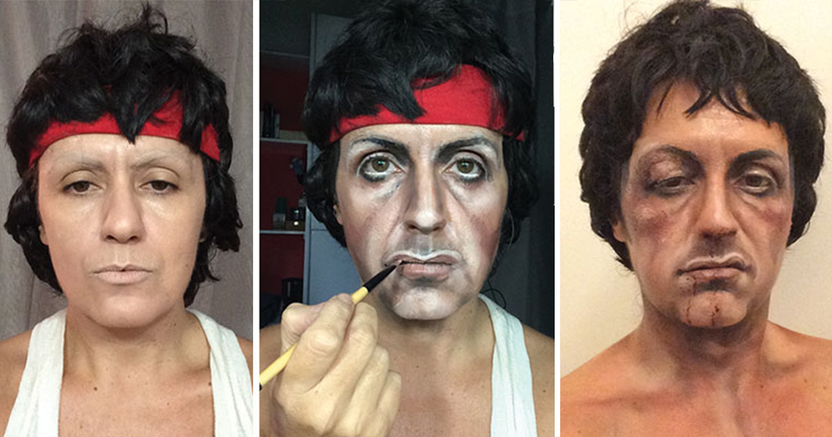 Makeup Artist Transforms Into Any Celebrity She Wants