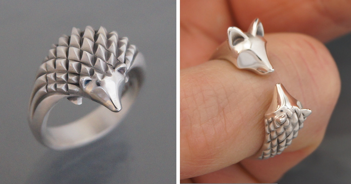 adorable animal jewelry made timeless with silver and bronze