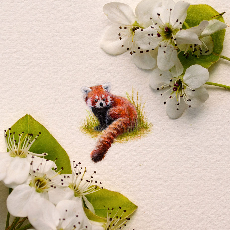 adorable miniatures by a 20 year old watercolor painter