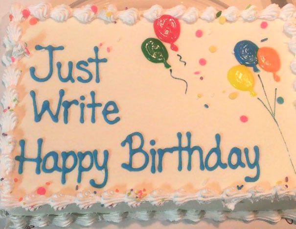 16 Times When Cake Decorators Took Instructions Too Literally