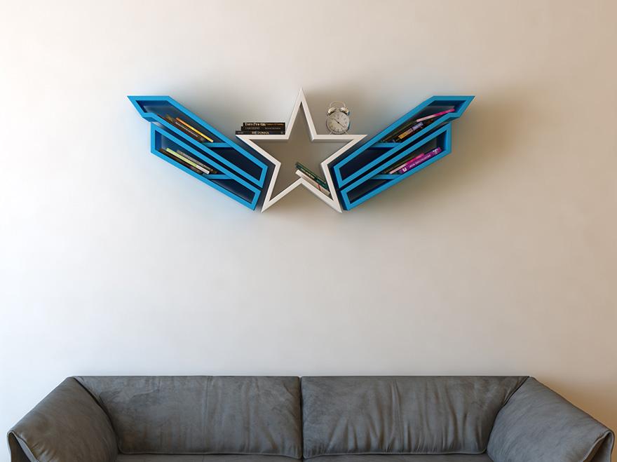 geeky-superhero-bookshelves-burak-dogan-2