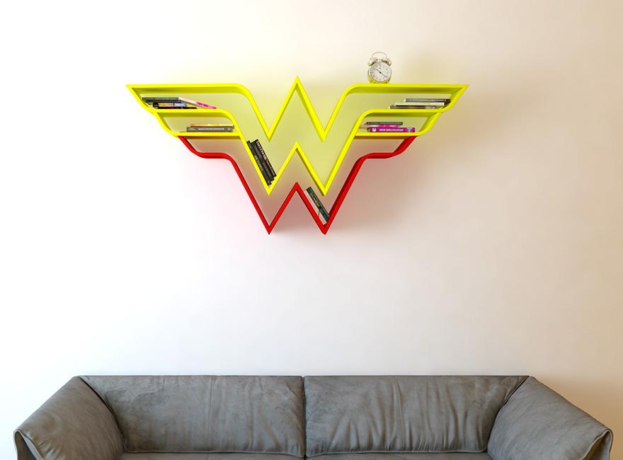geeky-superhero-bookshelves-burak-dogan-3
