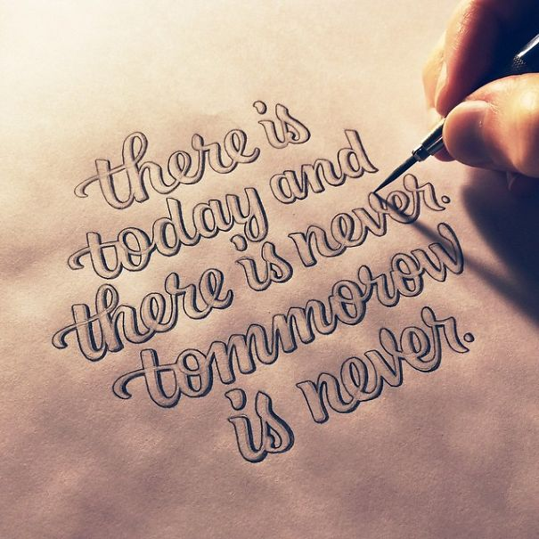 Beautiful Inspirational Quotes: 14 Inspirational Quotes Written In Beautiful Calligraphy
