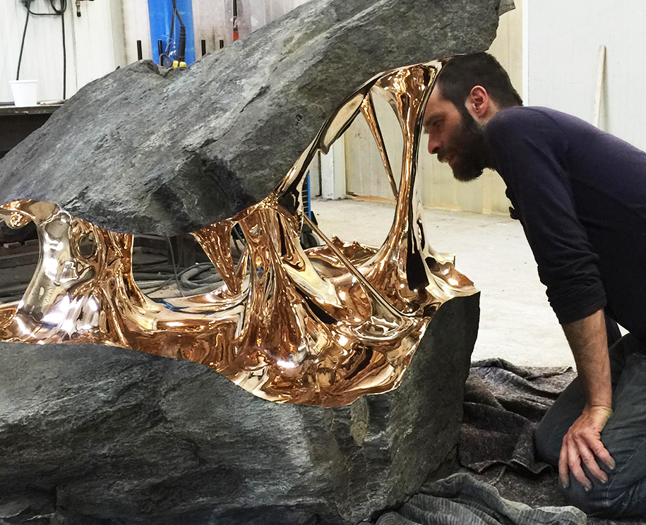 stretched-bronze-stone-sculptures-romain-langlois-9