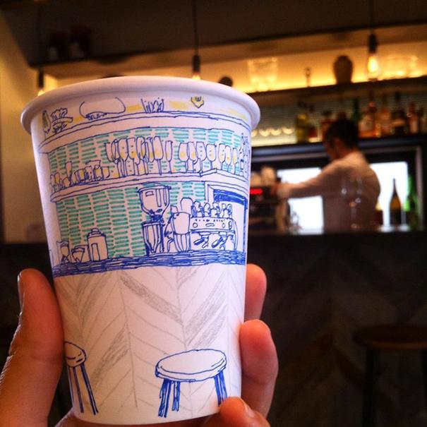 tokyo-life-illustrations-on-paper-cups-mariya-suzuki-japan-5