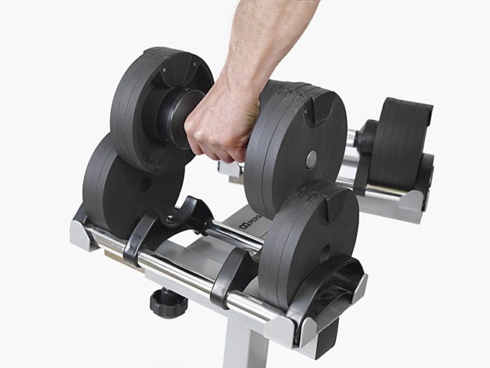Adjustable dumbbell India